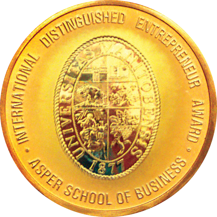 Asper School of Business Medallion